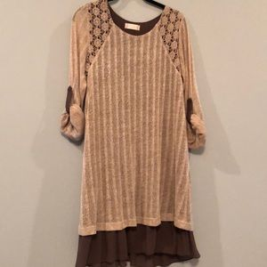 Altar'd State Knit sweater dress with rayon lining